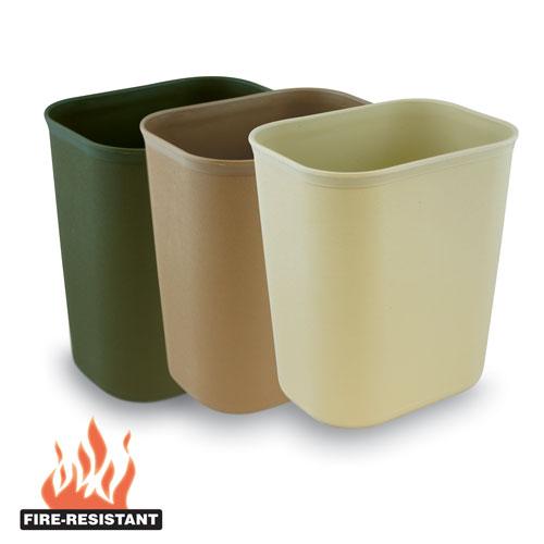 Fire Resistant Wastebaskets