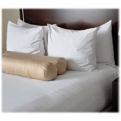 250 Ct White Sheets Pillowcases Hotel Sheets Lodgmate