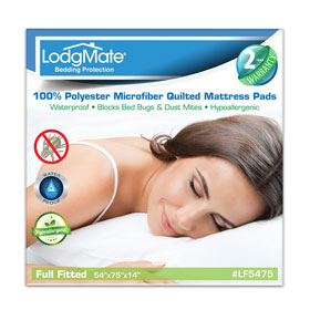 Luxury Microfiber Quilted Fitted Mattress Pads Lodgmate