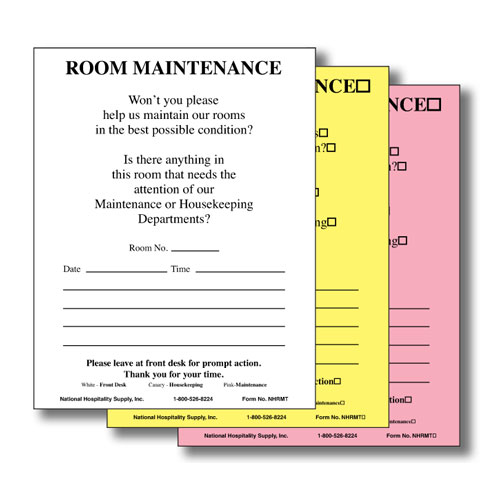 Hotel Maintenance Request Forms | Lodgmate