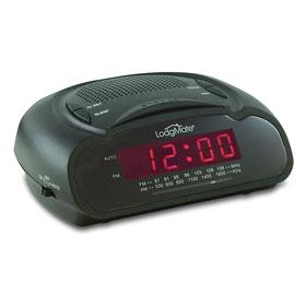 """LodgMate .6"""" LED Clock Radio"""