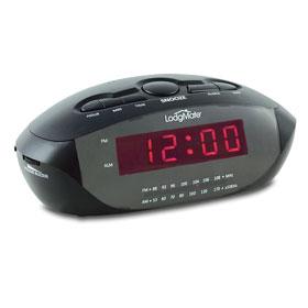 """LodgMate .9"""" LED Clock Radio"""