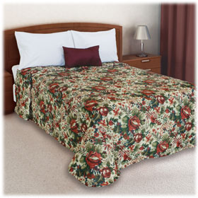 Trevira Quilted Polyester Bedspread Ashley