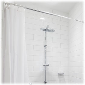 Hotel Shower Rods