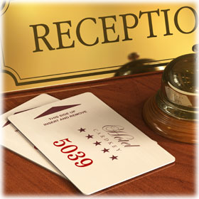 Hotel Key Cards & Envelopes
