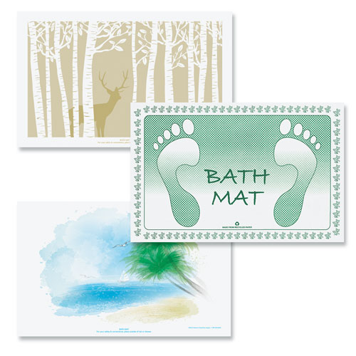 Disposable Paper Bath Mats Hotel Bath Mats Lodgmate