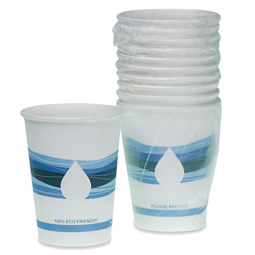 9 oz. Disposable Wrapped  Paper Cup 900/cs