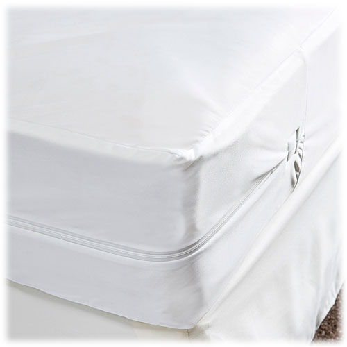 Stretch Polyester Zippered Mattress Covers Lodgmate