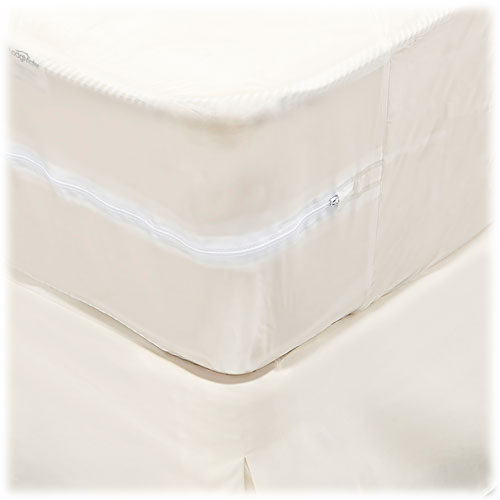 Zippered Vinyl Mattress Covers 6 Gauge Lodgmate