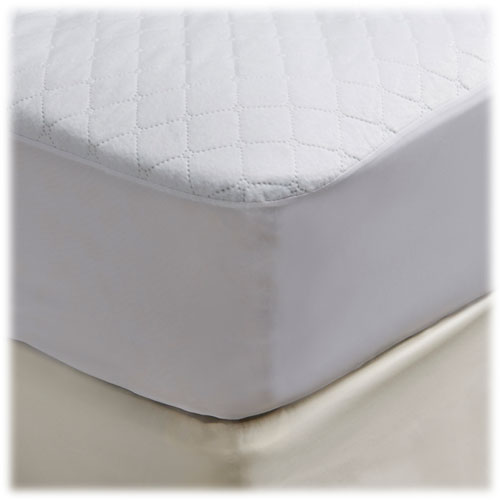 Waterproof Reversible Quilted Mattress Pads Fitted Style