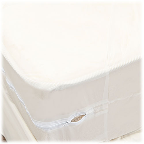 Zippered Vinyl Mattress Covers 3 Gauge Lodgmate