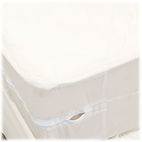 3 Ga. Vinyl Zippered Mattress Covers
