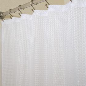 LodgMate Jacquard Shower Curtain 71