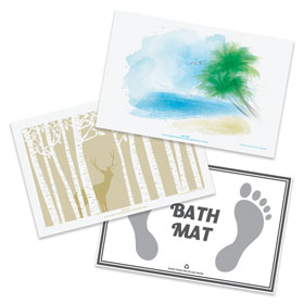 Disposable Bath Mats