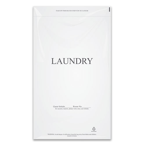 "Plastic Laundy Bags 14"" x 24"" 1000/cs"