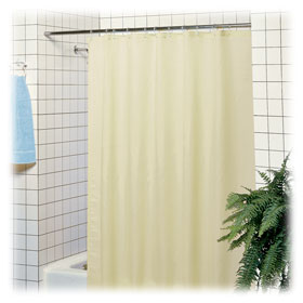 LodgMate Polyester Shower Curtains