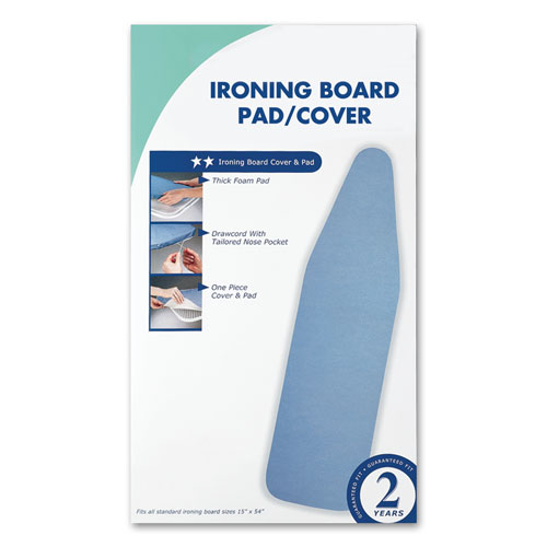 "Replacement Ironing Board ""Full Size"" Cover w/Pad"