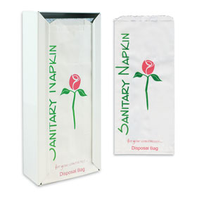 Sanitary Napkin Bags & Dispenser
