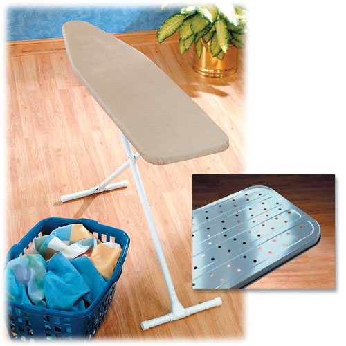 "Full Size Ironing Board w/Padded Cover - 13"" x 54"""