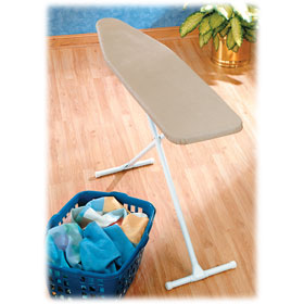"Standard Ironing Board w/Padded Cover 13"" x 54"""