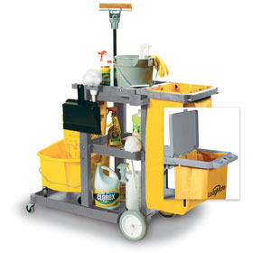 Commercial Janitorial Cleaning Cart